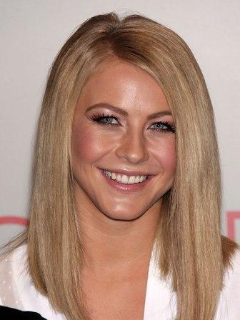 Blunt hair cut - Julianne Hough