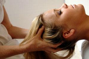 Natural oil hair Massage