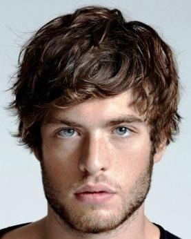 ... men 1 Hairstyle for long thick wavy hair men2