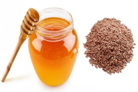 Honey and Flaxseed for moles
