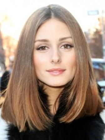 Long bob hairstyle - Olivia Palermo