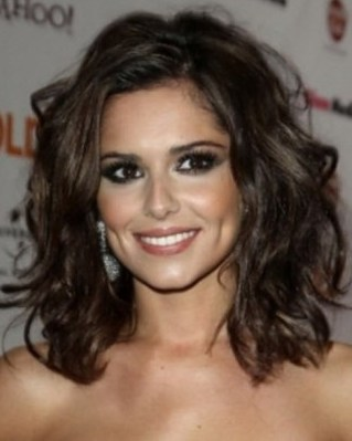 Medium length haircuts for thick wavy hair1