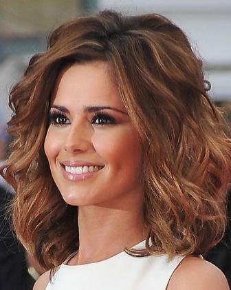 Medium length haircuts for thick wavy hair2