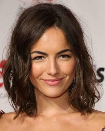Medium length haircuts for thick wavy hair3