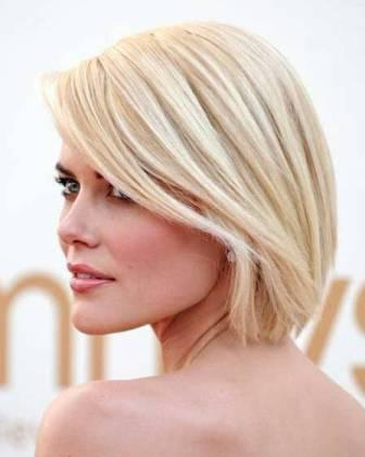 Short white blonde hairstyle 4