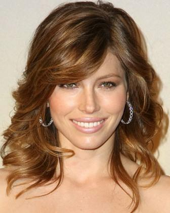 Shoulder length haircuts for wavy hair 2
