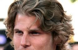 Wavy hair - men