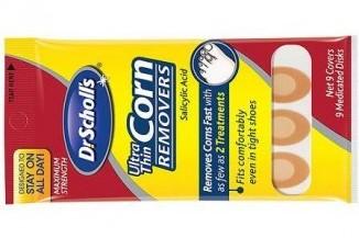 Corn remover cream