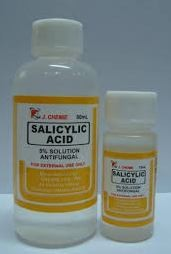 Salicylic acid presents in most corn removers can be corrossive